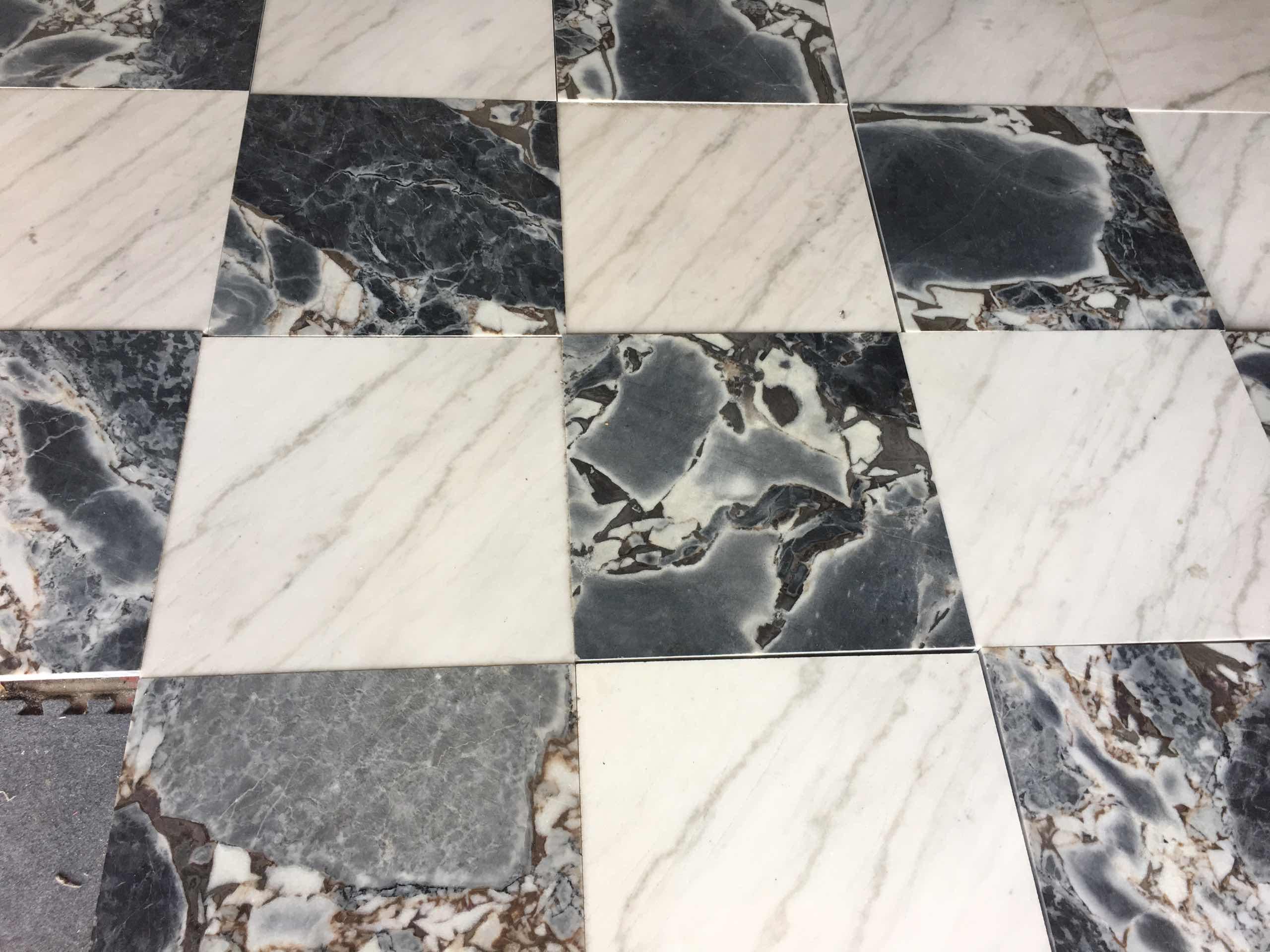 Gx white marble tiles
