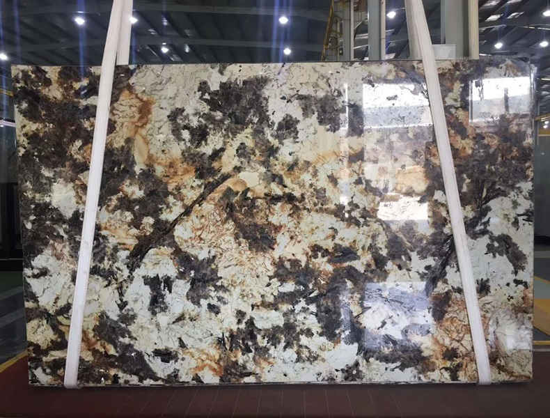 Brazil Havana Granite Crystal Granite Slabs
