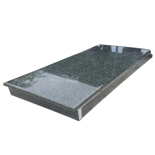 Black Polished Granite Headstones from India