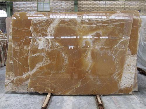 Honey Onyx Polished Natural Stone Slabs
