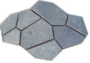Hot selling grey slate net paste for car parking decoration