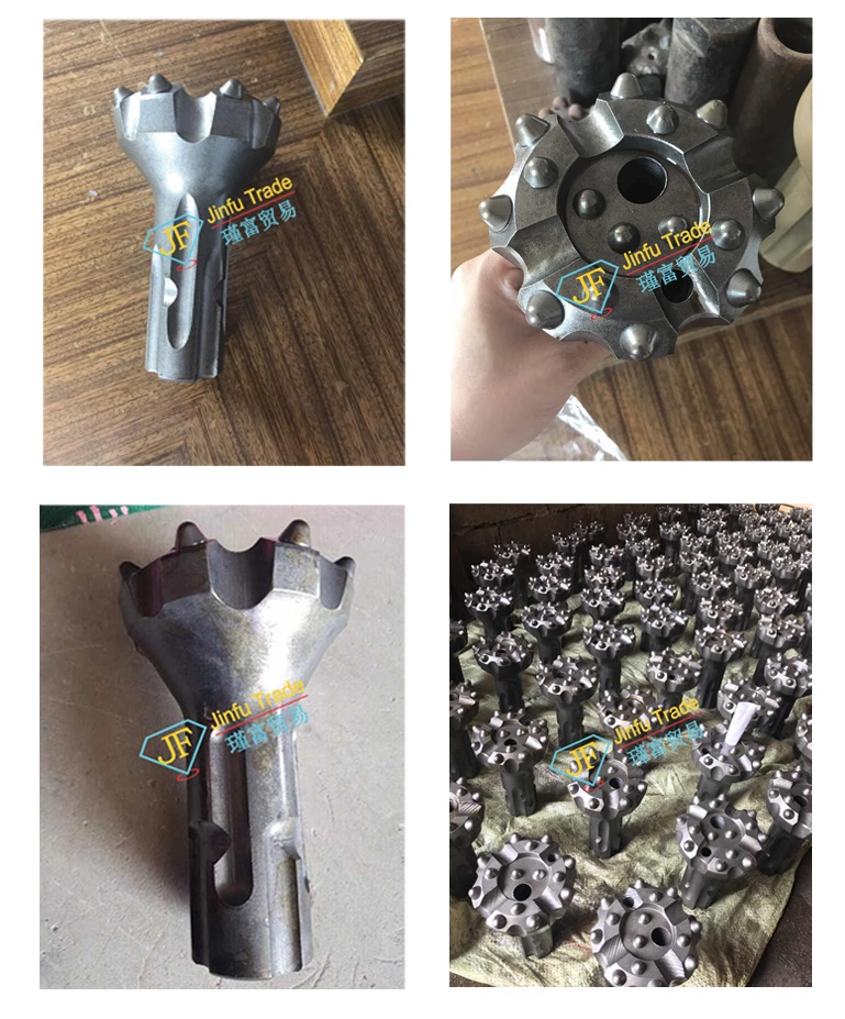 Hot sale 110mm down the hole drill bit for quarry drilling  low air pressure