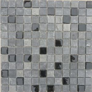 hot selling glass mixed stone mosaic tile for wall cladding