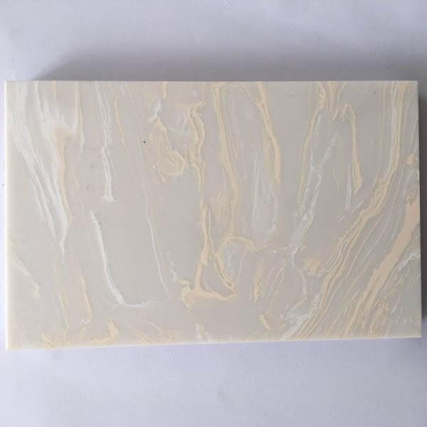 Cream White Artificial Marble