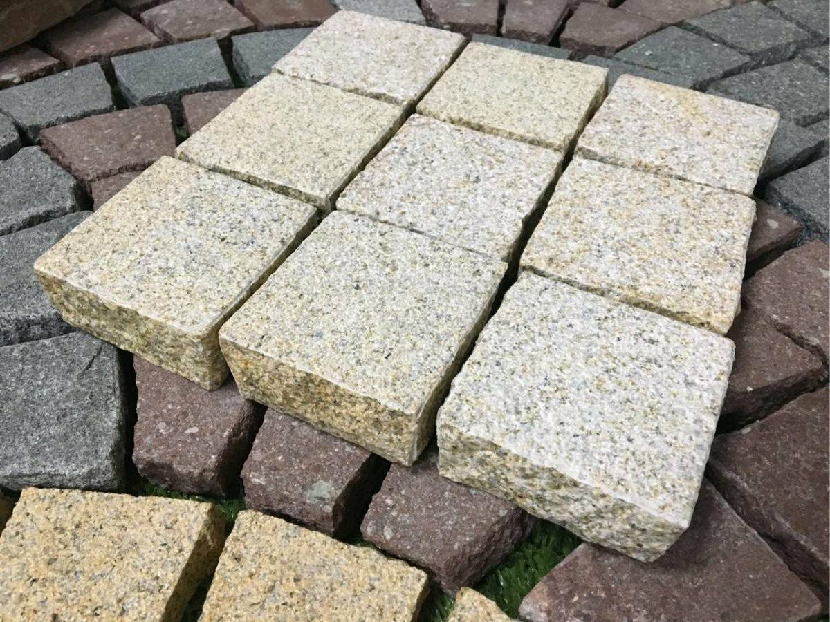 Yellow Granite Paving Stones