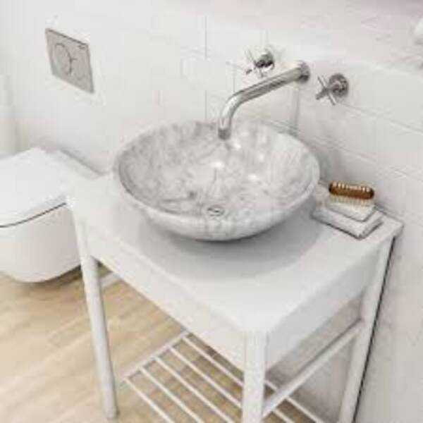 Natural stone sink marble wash hand basin bathroom