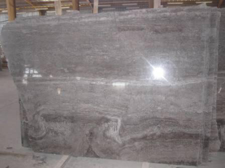 travertine slab Grey
