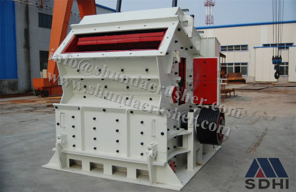 impact crusher stone cutting used for granite marble and limestone