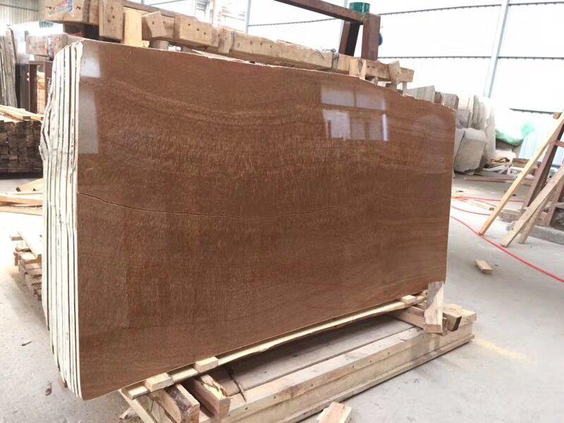 Imperial Wood Vein Marble Slab