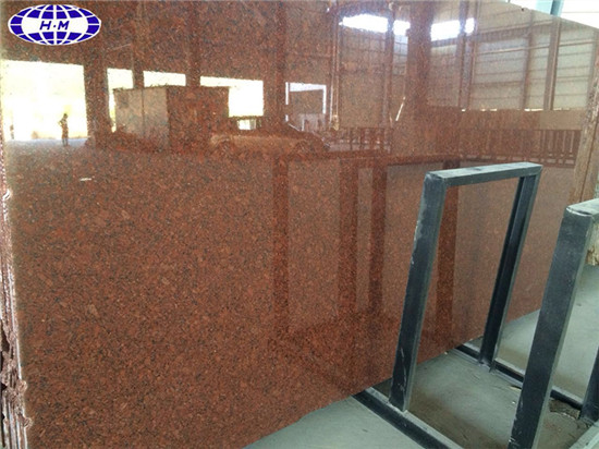 India Red Granite Polished Granite Slabs