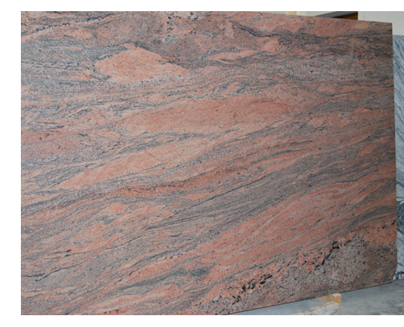 Indian Juprana Granite Slabs Beige Polished Granite Slabs