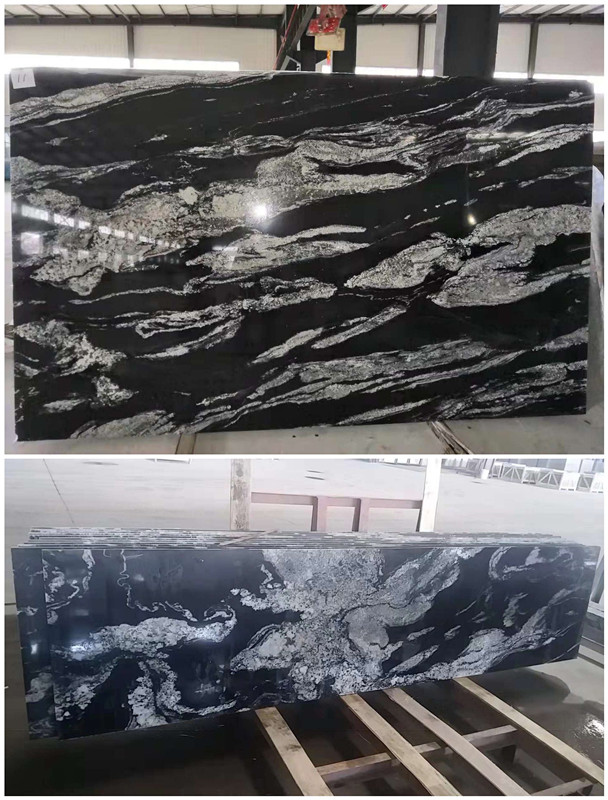 Titanium Chinese Granite Slab