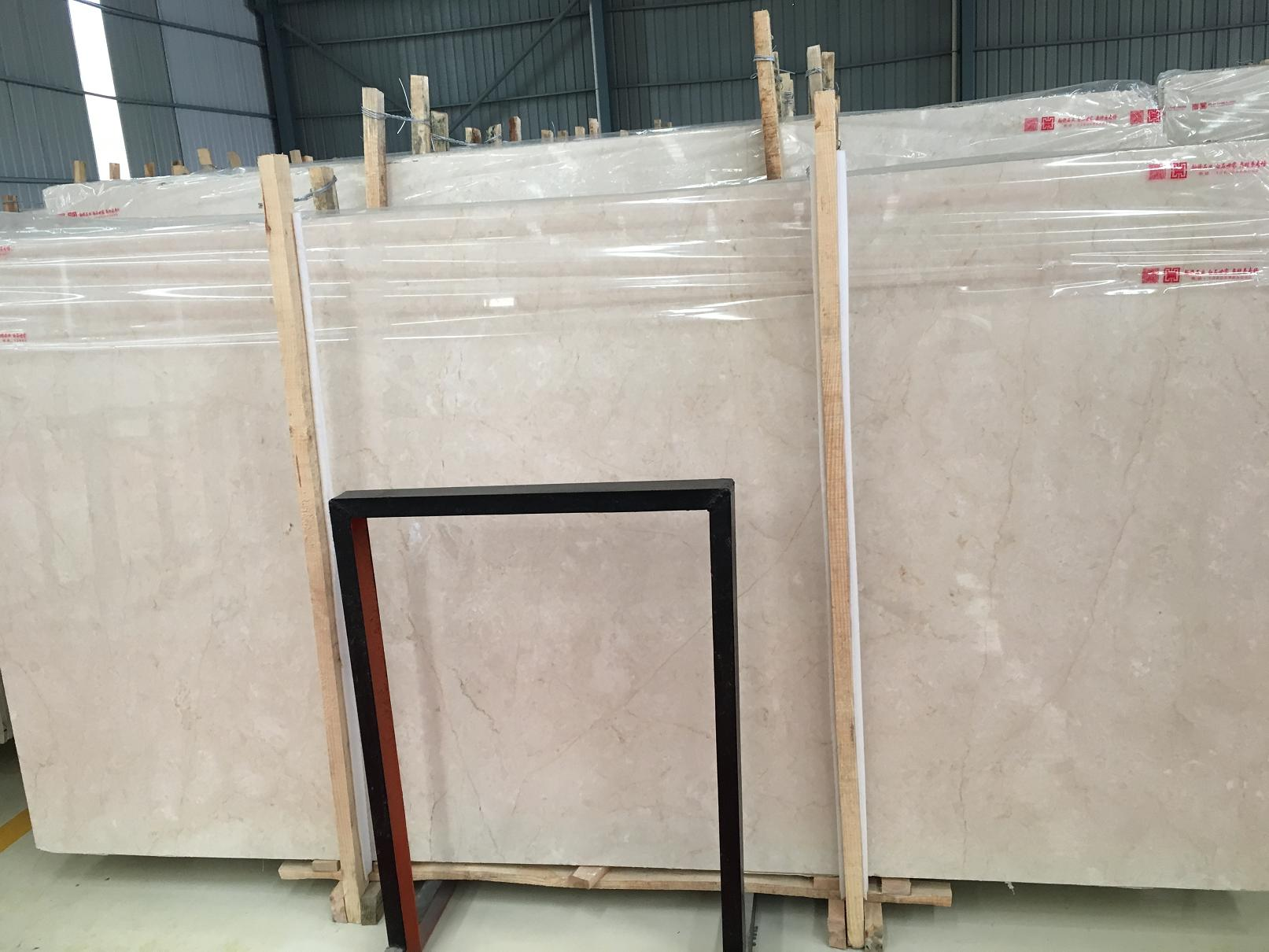 Automan Beige Marble Tiles & Slabs Polished Marble Tiles For Floor