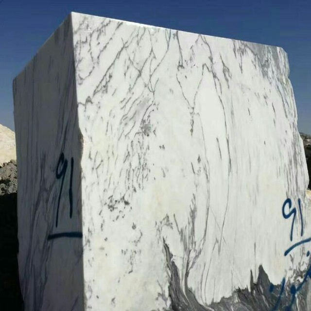 Italy Marble White Marble Blocks