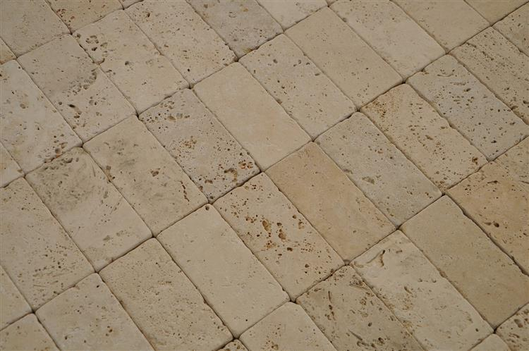 white Travertine - Ivory Cream