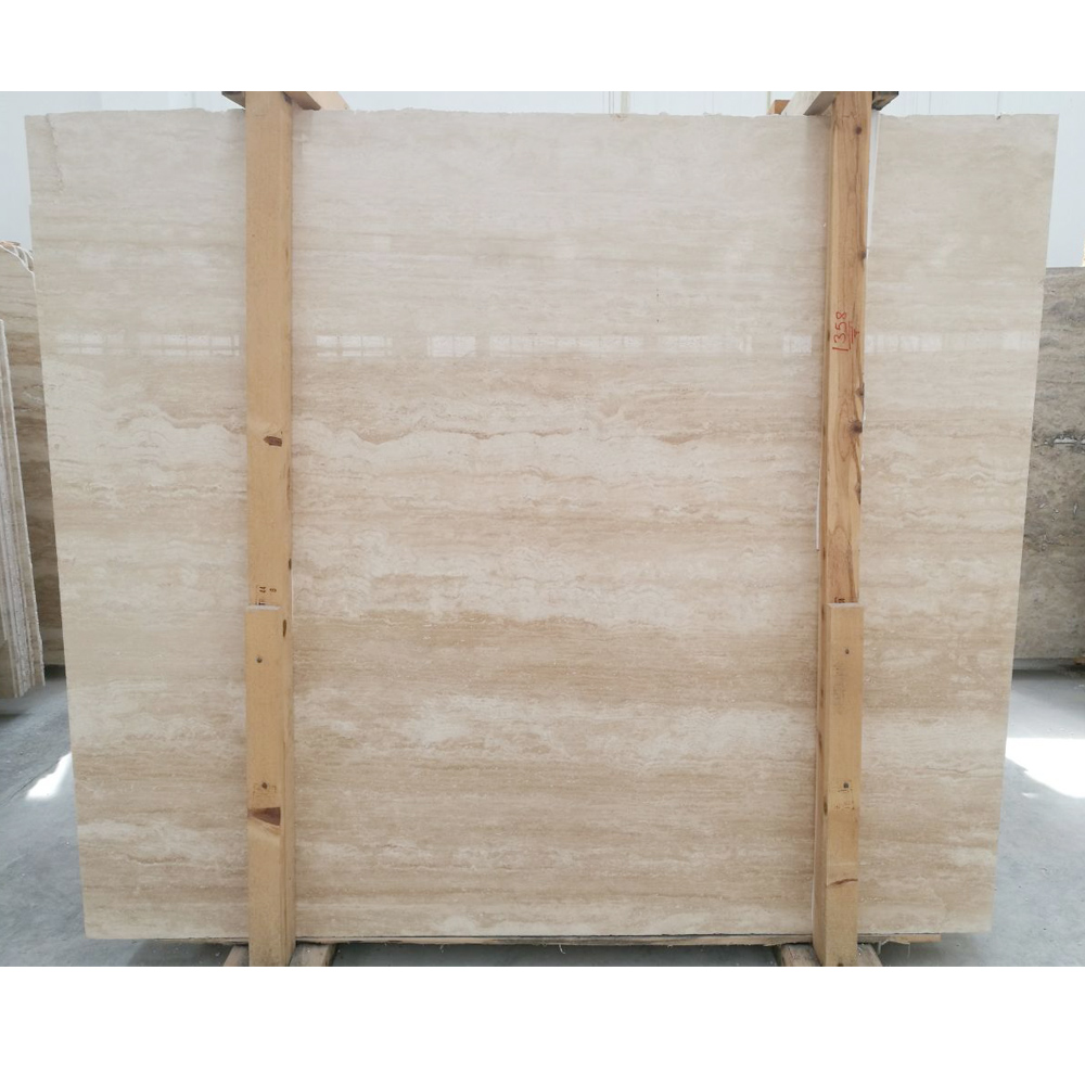 turkish ivory travertine vein cut