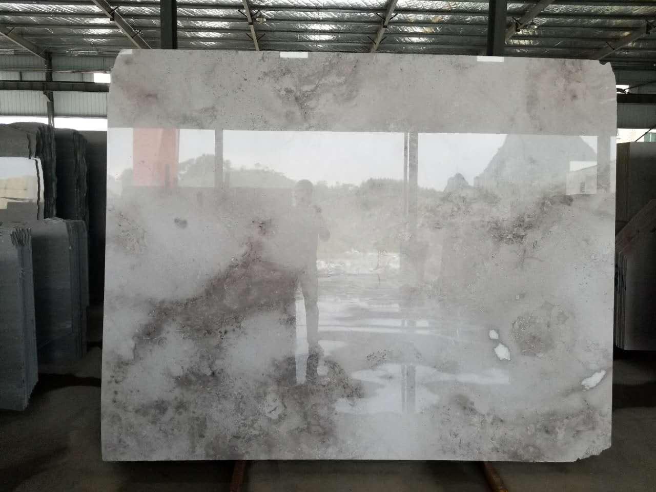 Jasmine Grey Marble Slabs