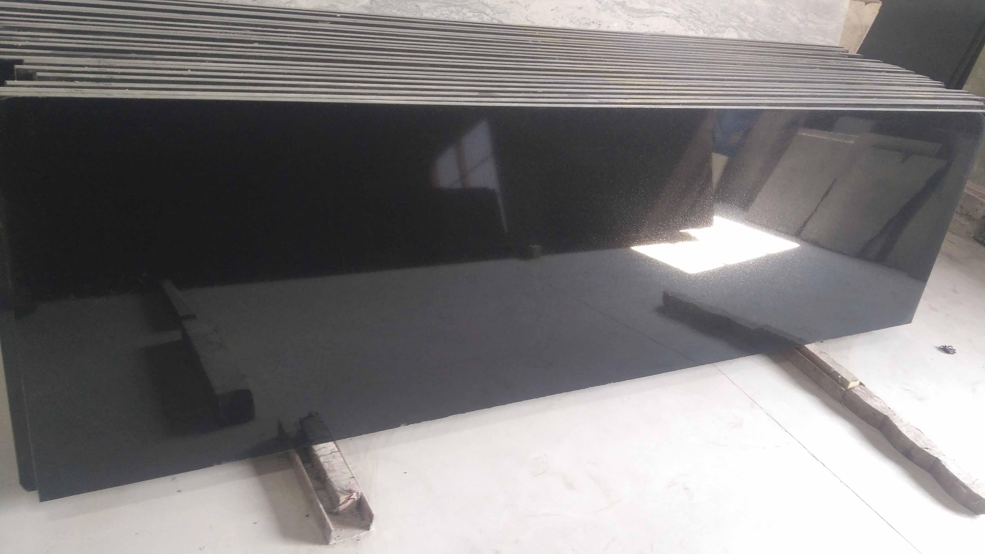 Jet Black -4s Granite