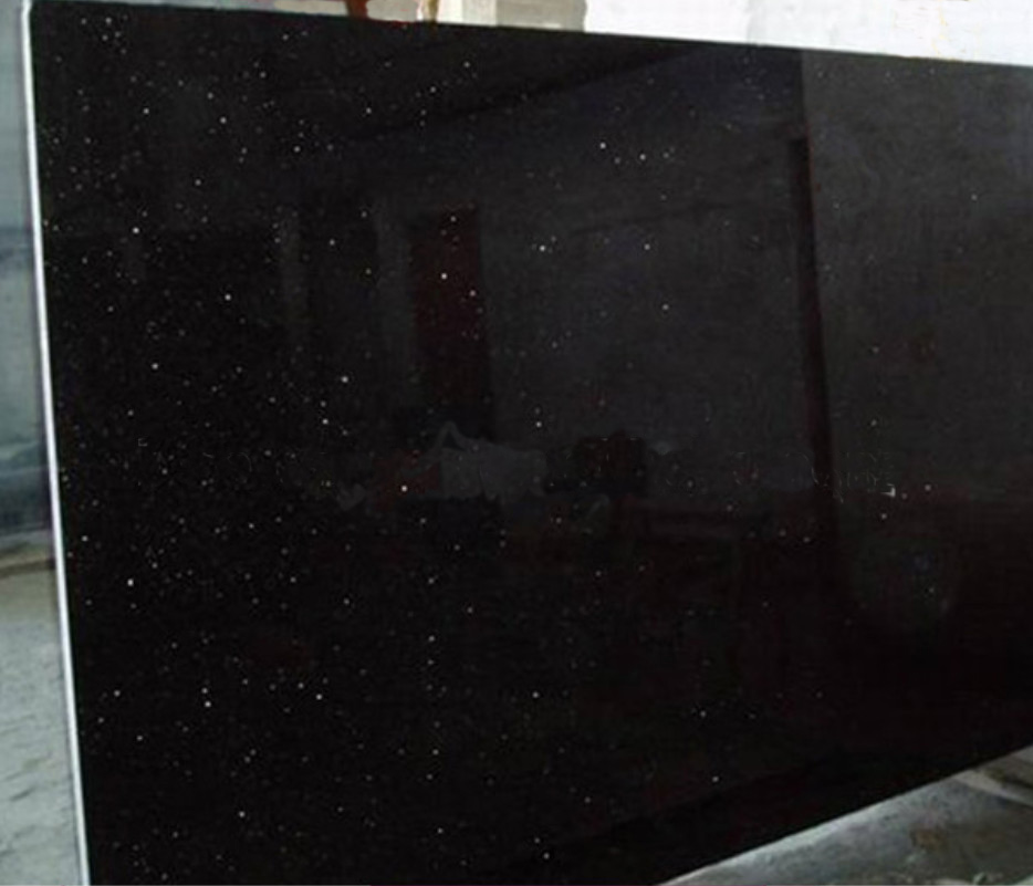 Jet Black Big Slabs Granite