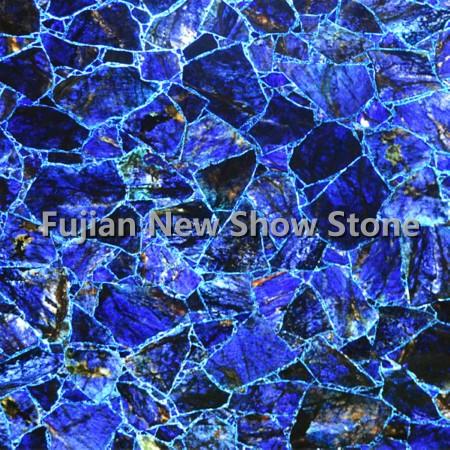 Bright Blue Agate