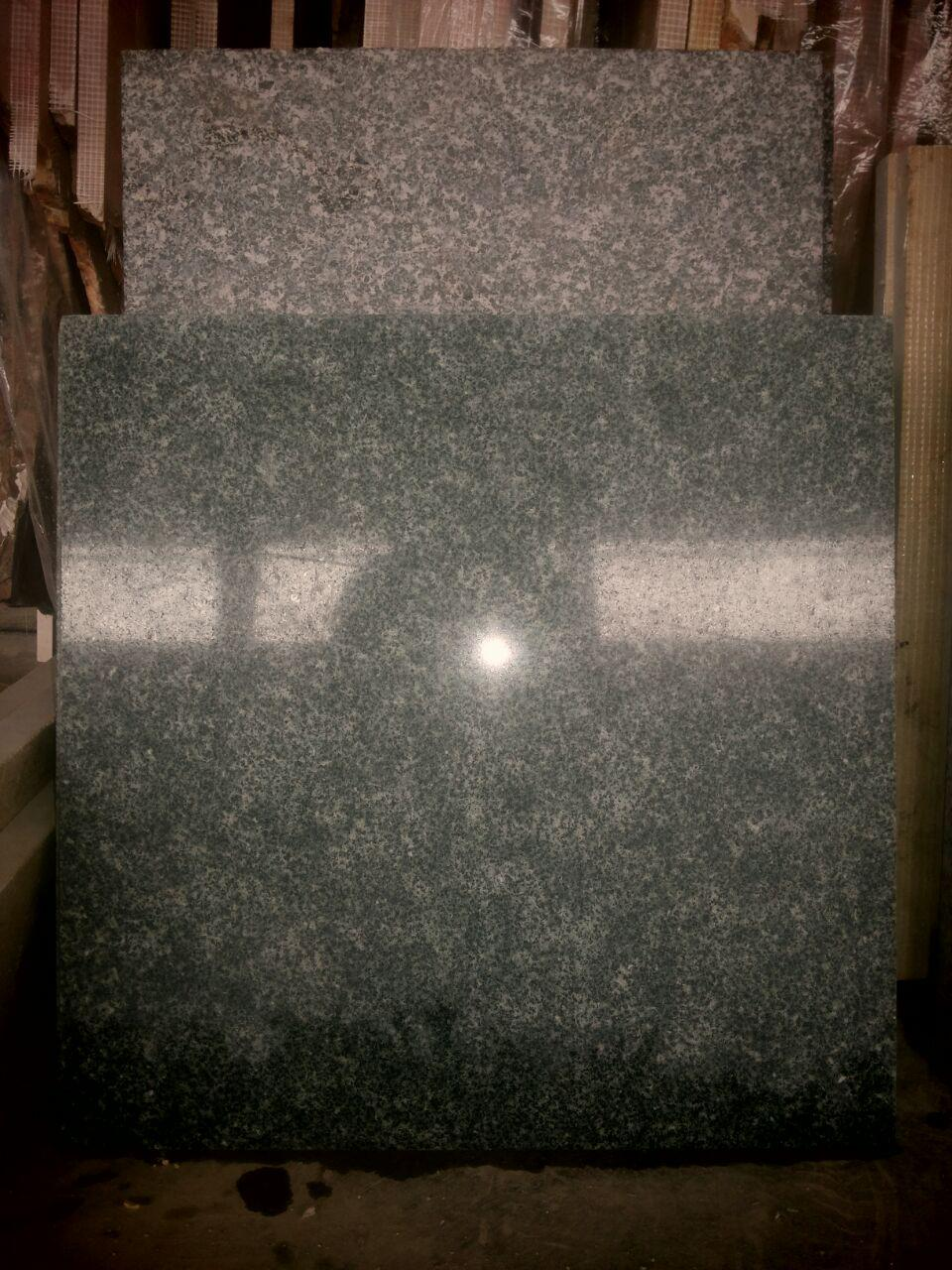 dark green granite tile