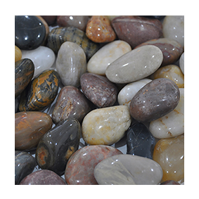 NJ-002 Mixed polished stone