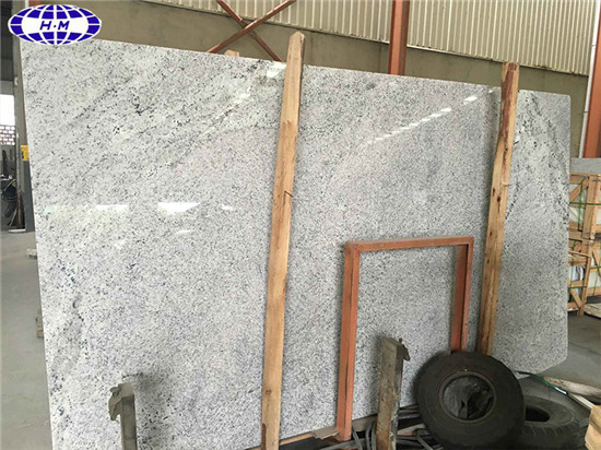 Kashmir White Granite Slabs Polished Slabs