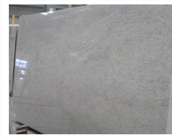 Kashmir White Granite Slabs Indian Polished White Granite Slabs