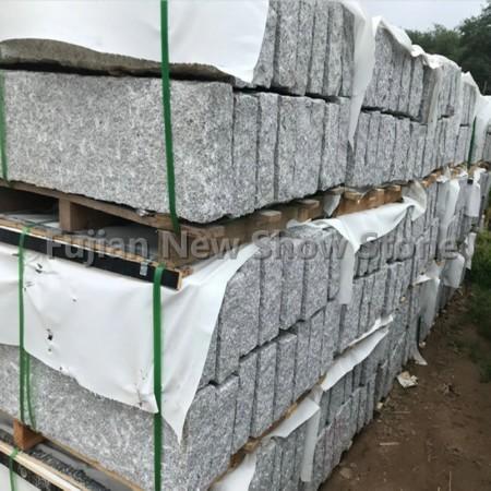 Kerbstone grey granite