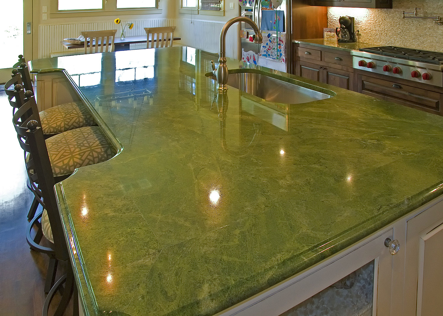 Green onyx Countertops