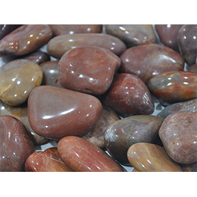 NJ-001 Red Polished Stone