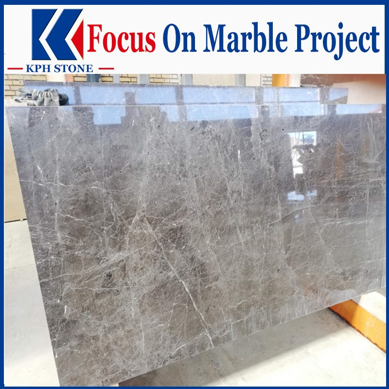 Own import block grey galaxy marble for Hotel project