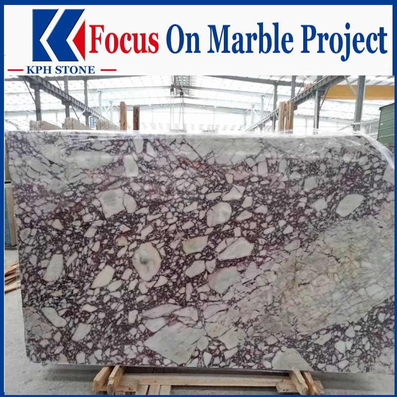 Luxury Violet Marble Slabs