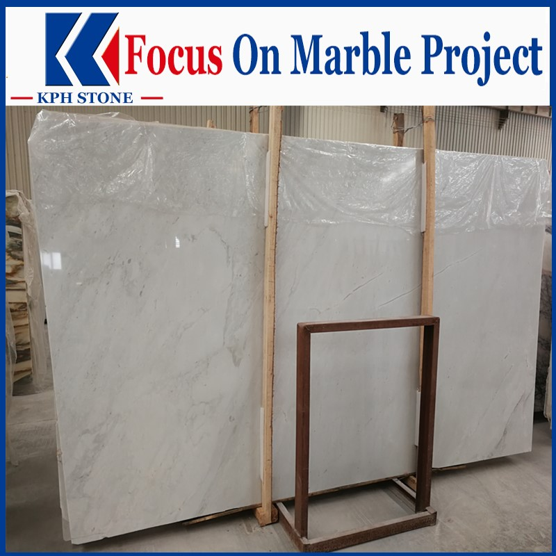 New Ariston White Marble Slabs