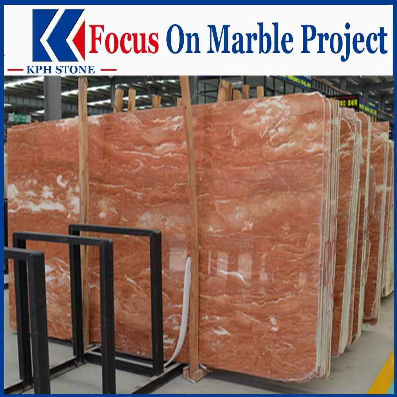 Orange peel red marble for Wynn Palace