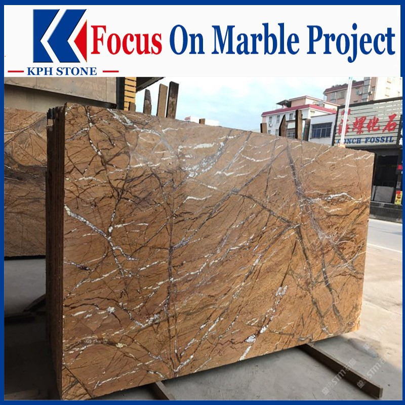 India Rainforest Brown Marble