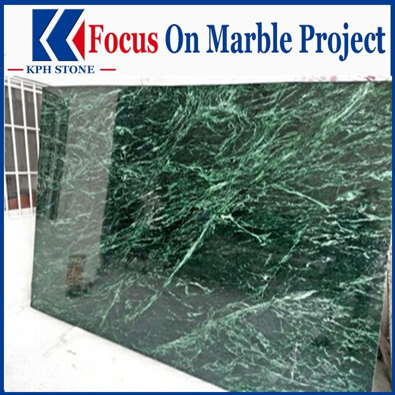 Green Verde Ming Marble Slabs