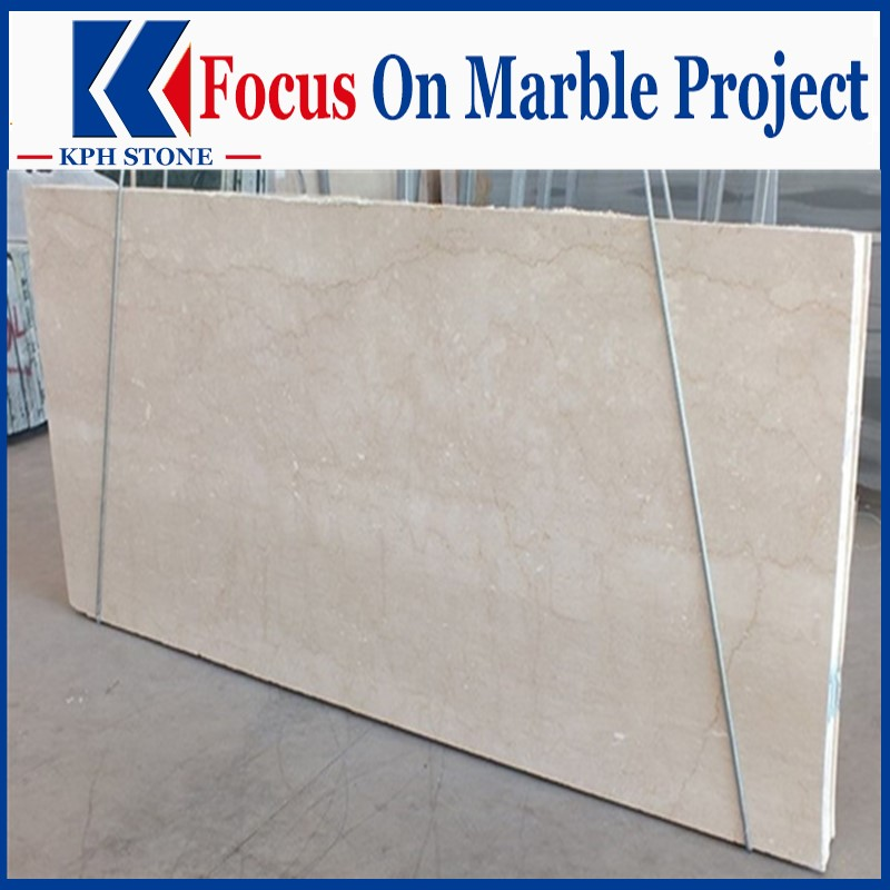Nature Botticino Classico marble slab for Ascott Orchard