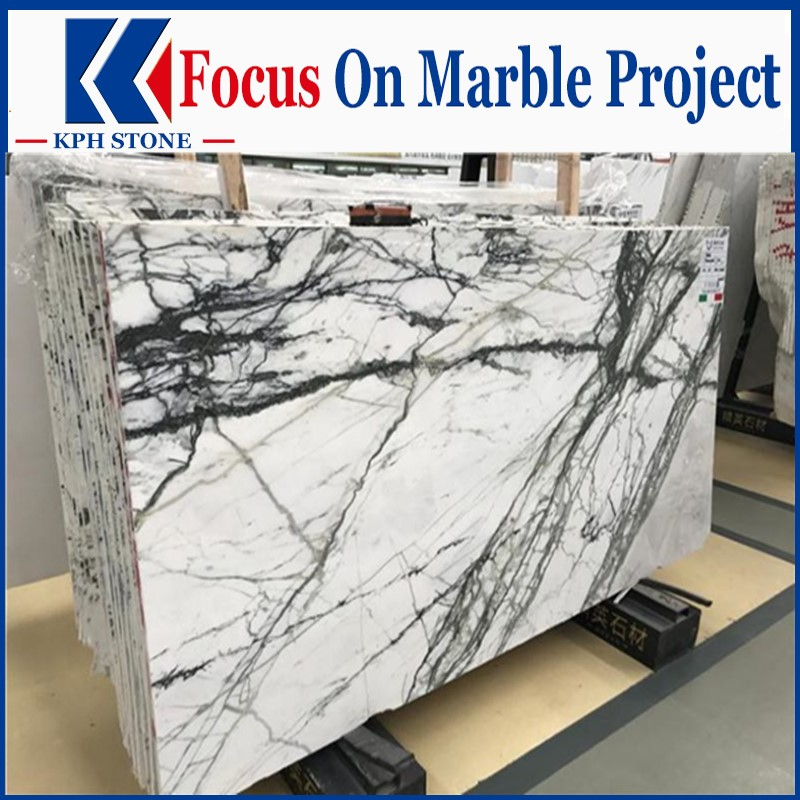 Aurora Green Marble Slabs