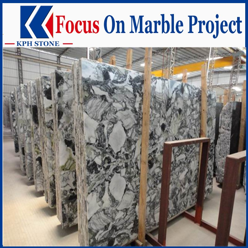 Ice Green Marble Slabs