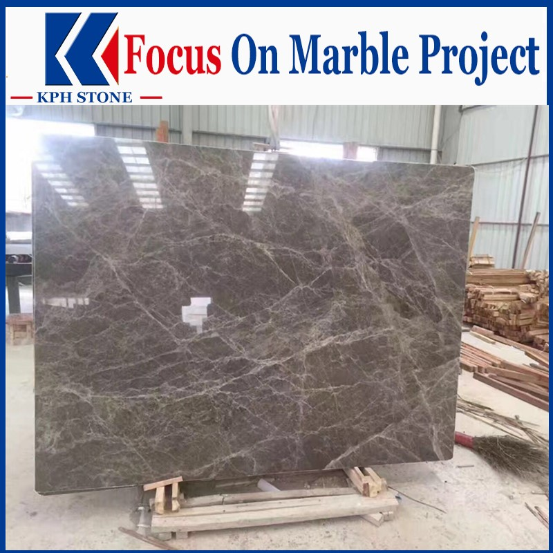 Hermes Grey Marble Polished Slabs