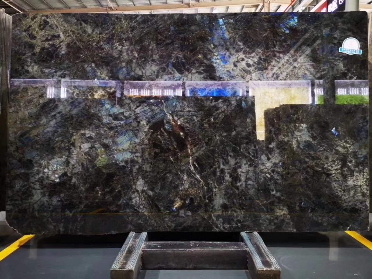 Labradorite Blue Granite Slabs