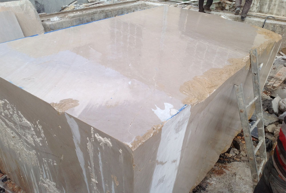 Beige Marble Blocks