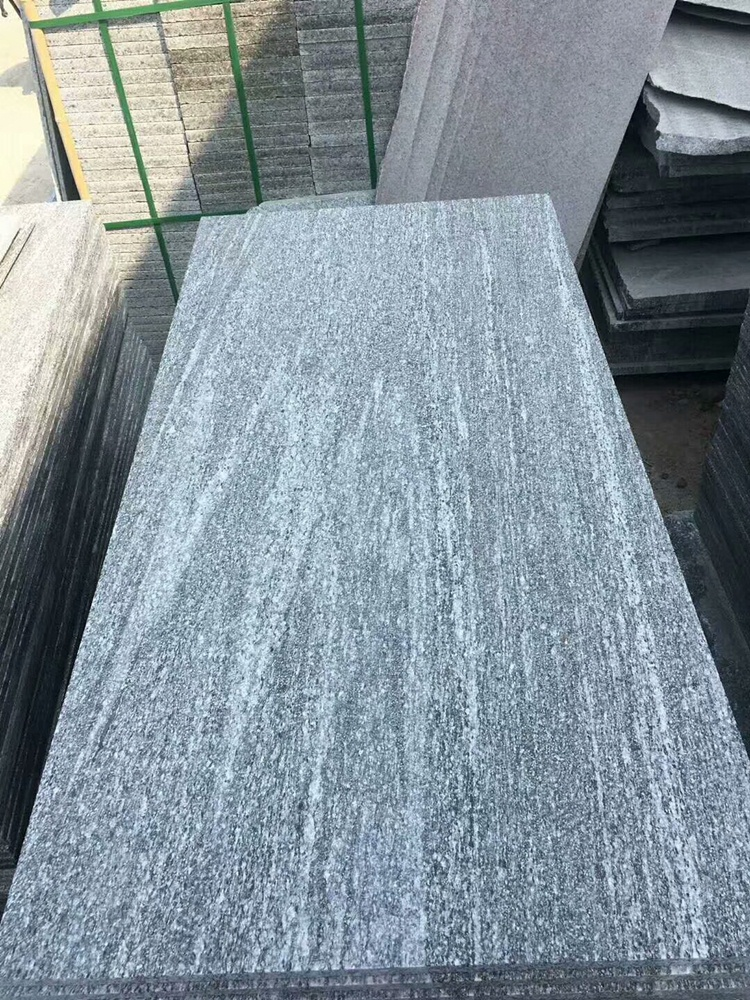 grey vein granite landscape stone