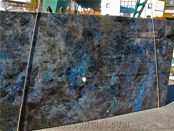 Blue Lemurian granite