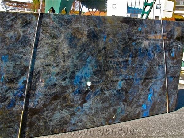 Lemurian Precious Blue Granite Slabs Stone Slabes