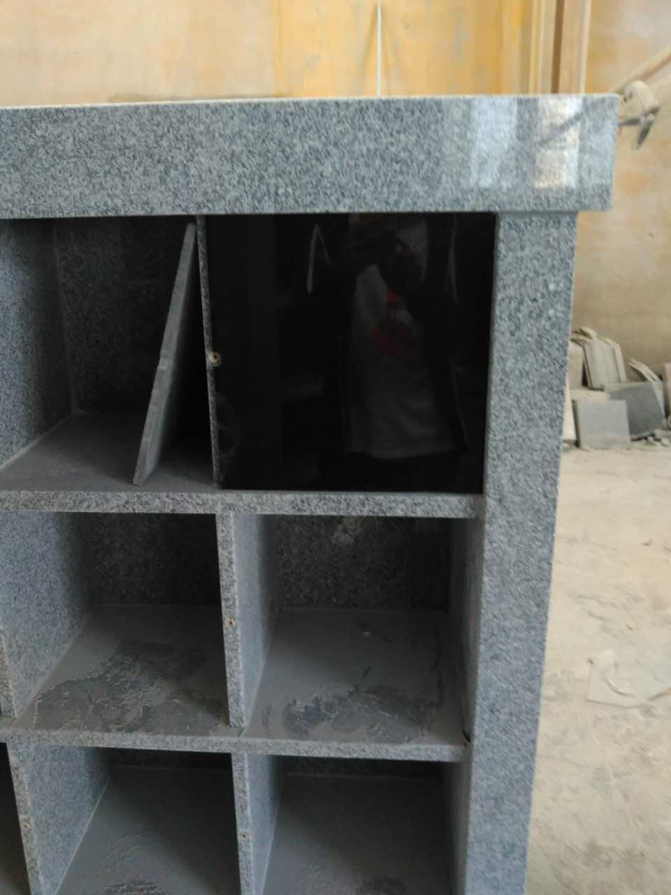 light grey G603 columbarium