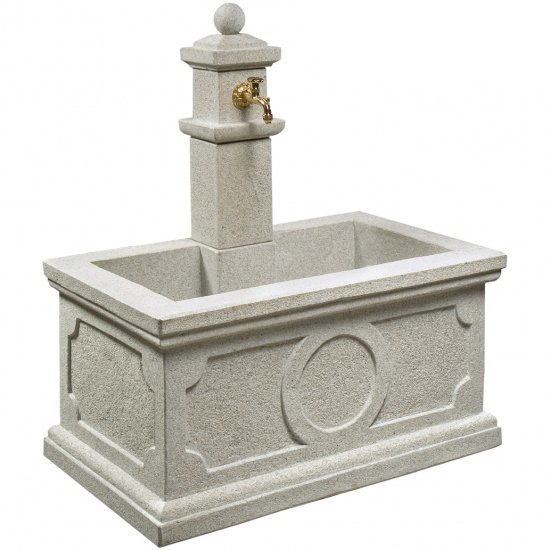 light grey G603 granite fountain