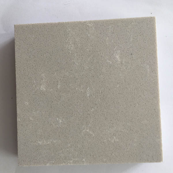 Light grey with white vein artificial marble