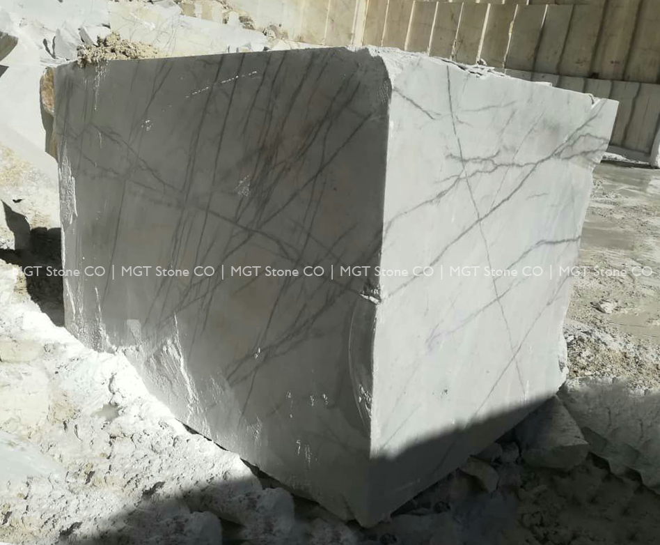 Lilac Marble Block
